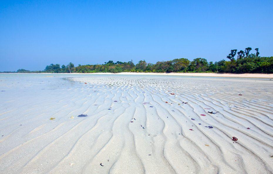 Bharatpur Beach at Neil Island